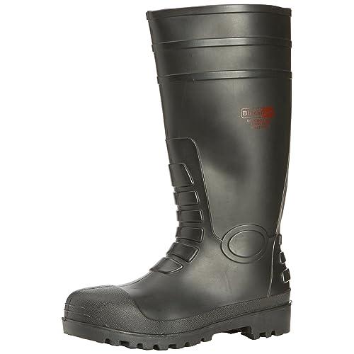 518c855574c Steel Toe Cap Wellington Boots: Amazon.co.uk