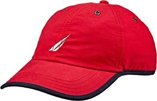 Nautica Men's 6 PANEL SPORTIF CAP NAUTICA RED, Nautica Red, One Size