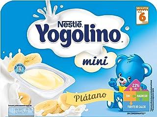 Nestlé Yogolino Postre lácteo Mini con Plátano Para bebés a partir de 6 meses - Paquete