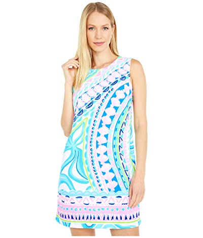 Lilly Pulitzer Narissa Stretch Shift (Multi Coco Island Engineered) Women