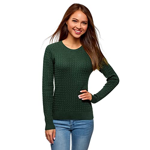 cecd67f7014 Womens Cable Knit Jumper: Amazon.co.uk