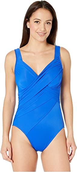 b3c0574b125 Clothing · Blue · Miraclesuit · Women. Delphine Blue. Miraclesuit. Rock  Solid Revele One-Piece