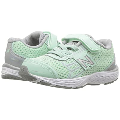 New Balance Kids KA680v5I (Infant/Toddler) (Seafoam/Steel) Girls Shoes