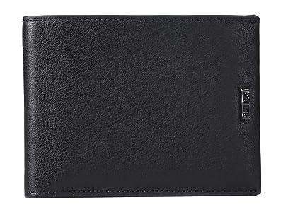 Tumi Nassau Global Removable Passcase Wallet (Black Textured) Wallet