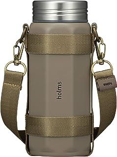 シービージャパン 水筒 ベージュ 340ml 直飲み 真空断熱 ステンレスボトル 専用ホルダー付き オクタボトル holms