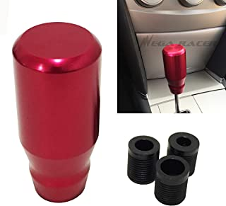 Mega Racer Universal Metal RED Manual Transmission Speed 4 5 6 Sport Gear Stick Shift Knob Style Shifter Console Lever