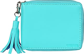 Creature Turquoise Zipper Wallet for Girls(Color-Turquoise||ZWL-03)
