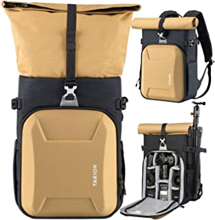 TARION XH Camera Backpack Waterproof Camera Bag Hard Shell Roll Top Expandable Large Camera Backpack 18.5L   15