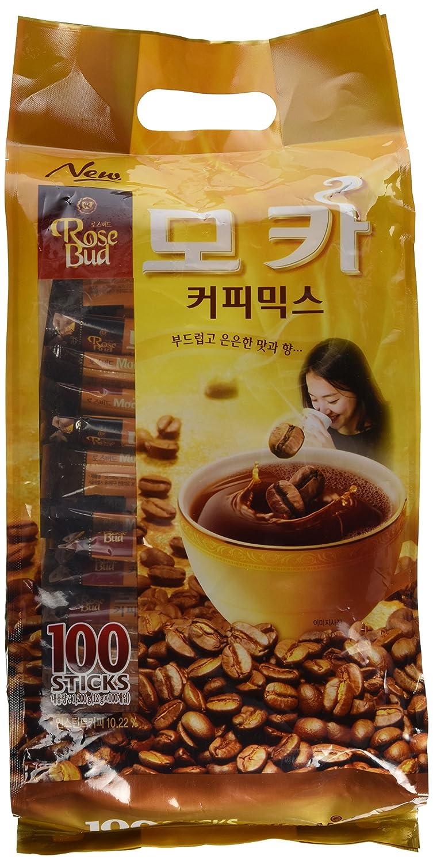 Superior Year-end gift Rosebud Mocha Coffee 12gx100pack Mix