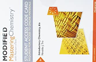 Modified Mastering Chemistry with Pearson eText -- Standalone Access Card -- for Introductory Chemistry (6th Edition)