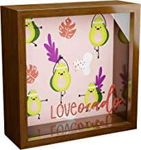 Mexican Gifts | 6x6x2 Memory Shadow Box for Avocado Lover | Teen Desk Accessories |..