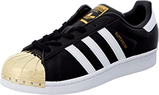 adidas Womens Superstar Metal Toe Leather Trainers