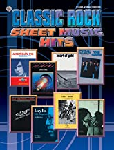 Classic Rock Sheet Music Hits: Piano/Vocal/Chords