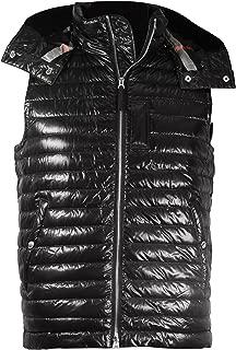 Men's Aldridge Black Quilted Puffer Vest
