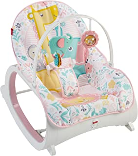 Mecedora para infantes Fisher-Price, Rosado