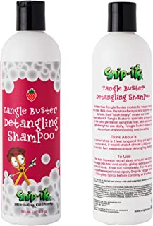 Snip-its Tangle Buster Detangling Kids Shampoo 12 oz | Gentle Hair Detangler - Great for Swimmers with Curly or Straight h...