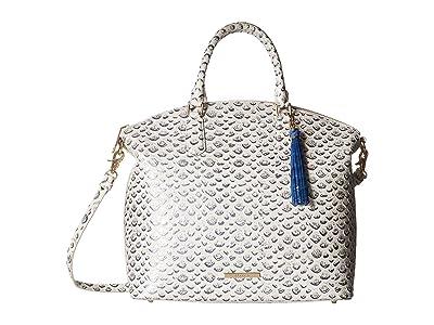 Brahmin Large Duxbury (Creme 1) Handbags