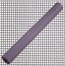 Maurer 1190210 vliegengaas van glasvezel, grijs, 18 x 16/100 cm 50 meter rol