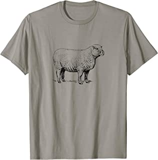 Sheep simple logo t-shirt
