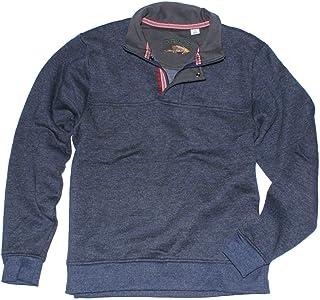 Orvis Men's Signature Pullover, Variety (L, Heather Navy)