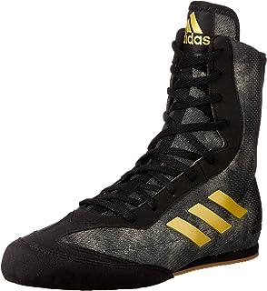 adidas Box Hog Plus Boxing Trainer Shoe Boot Black/Gold