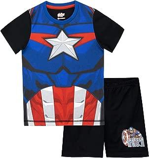 Marvel Boys' Captain America Pajamas