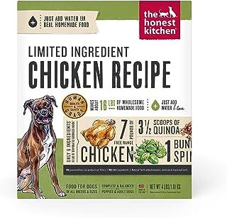 Honest Kitchen Limited Ingredient Chicken Dog Food Recipe 4 lb box - Thrive