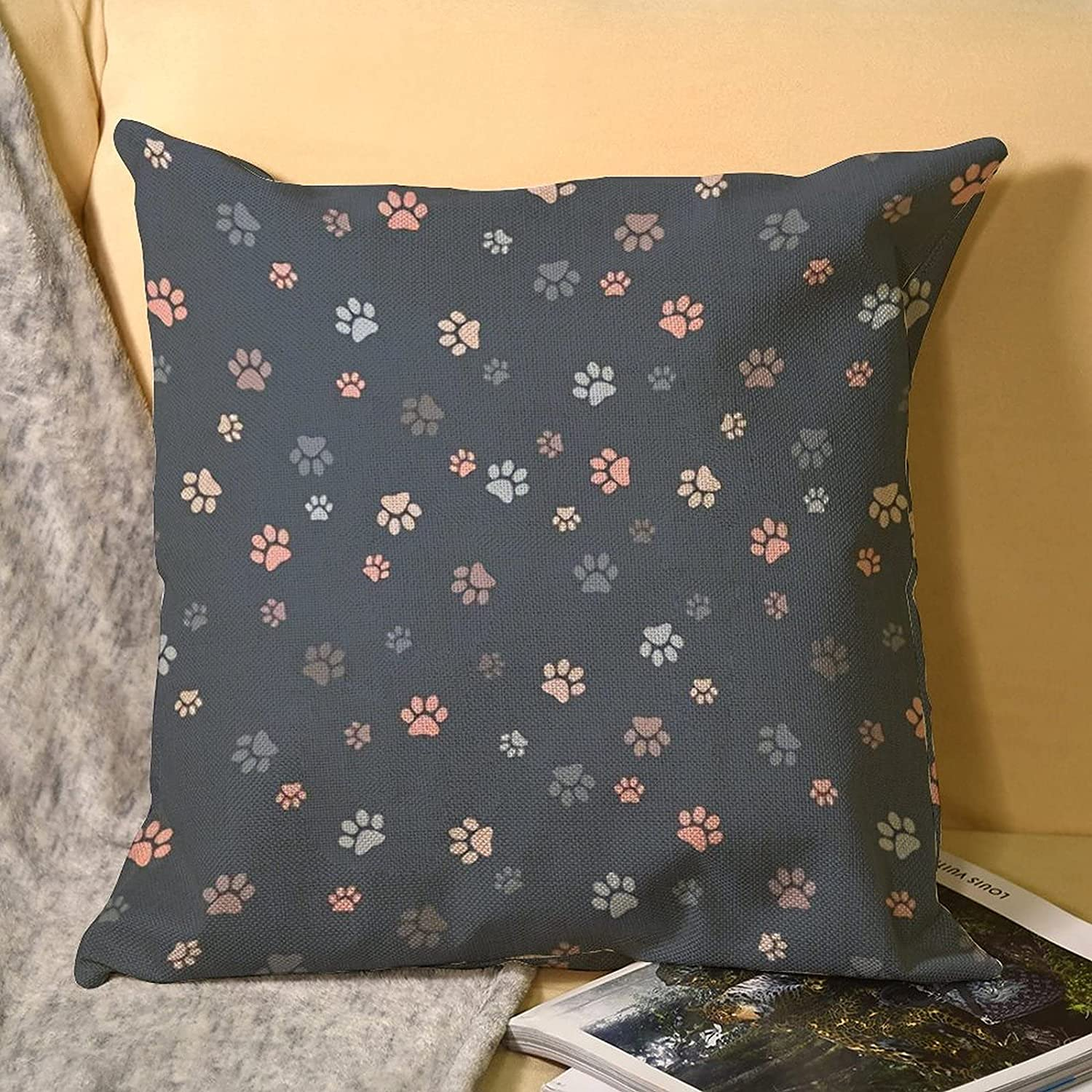 Muted Grays and specialty shop Pinks Outdoor Lumbar Covers Case Pillow Indoor Nippon regular agency