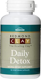 Redmond Clay Daily Detox Vegetarian Capsule, 120 Count