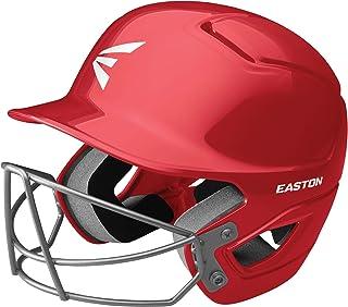 EASTON Alpha Batting Helmet with Mask | Baseball Softball | 2020 | Dual-Density Impact Absorption Foam | High Impact Resistant ABS Shell | Moisture Wicking BioDRI Liner | Removable Logo
