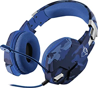 Trust Gaming Headset for Playstation 4 (PS4) and Playstation 5 (PS5) GXT 322D Carus with Microphone, Adjustable Headband a...