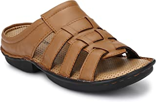 Andrew Scott Men's Leather Sandals