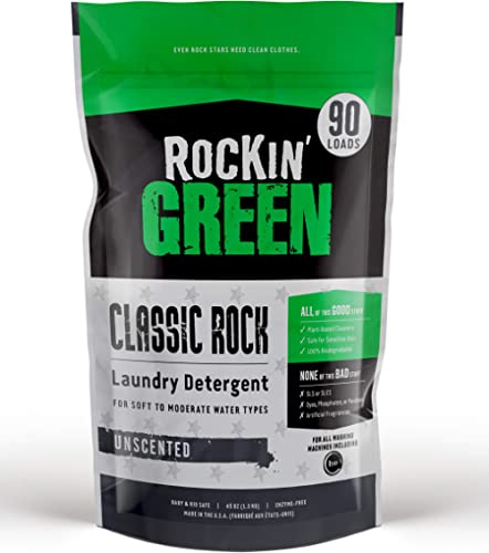 Rockin Green Classic concentrate Laundry Detergent - Unscented