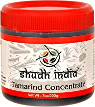 Shudh India | Tamarind Concentrate Paste | Imli | Sweet and Sour Sauce for Indian Chutney and Thai curry | All Natural | Vegan | Gluten Free | No Colours and Sugar Added |