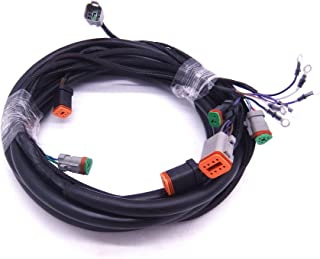 0176340 176340 SystemCheck 15ft Main Modular Wiring Harness Cable for Evinrude Johnson OMC Outboard Motor Remote Control Box 5006180