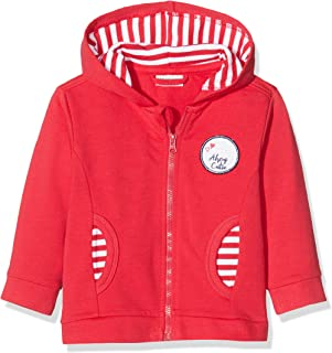 Salt & Pepper Baby Girls' Mit Kapuze Und Maritimem Badge Sweat Jacket