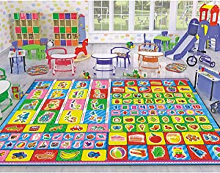 Warm Tower Kids Educational Rugs for Baby Classroom,...