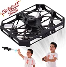 $20 » RC Drones for Kids and Adults - RC Quadcopter Mini Drone Toy - Headless Mode - Sensors for Hand Operated or Remote Control - Obstacle Avoiding - USB Charging - 6 Axis - 360 Degree Roll