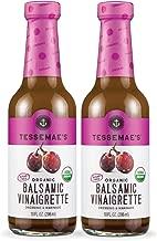 Tessemae's All Natural Salad Dressing 2-Pack (Organic Balsamic)
