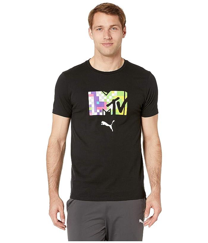 PUMA MTV Tee (PUMA Black) Men