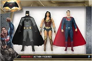 NJ Croce Batman Vs Superman Action Figure Boxed Set, Multicolor, 8