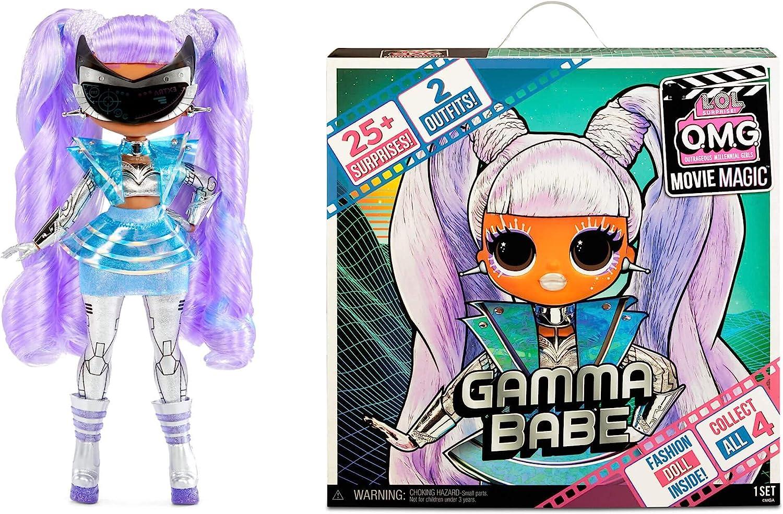 OMG Movie Magic Gamma Babe - Doll and the box