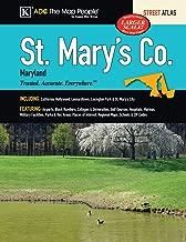 St Mary's County, MD Street Atlas