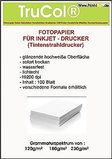 100 fogli di carta patinata su due lati A4 carta fotografica opaca 240g //m/² A getto dinchiostro patinata opaca la carta fotografica Premium per la stampa fronte-retro di alta qualit/à.