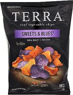 TERRA Sweets n Blues Sea Salt Chips, 5.75 Ounce