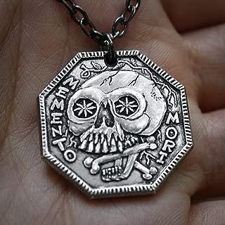 Memento Mori Silver Necklace