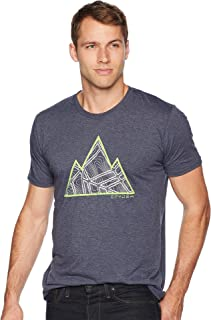 Spyder Men's Mtn Topo Organic Cotton Blend Short Sleeve T-shirt Mtn Topo Organic Cotton Blend Short Sleeve T-shirt