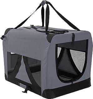 Paw Mate Soft Dog Crate L - Grey (PET-3002L-GY)
