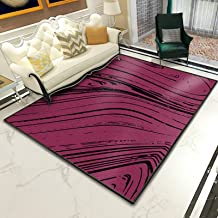 Modern Minimalist Rug,Anti-Slip Foot Pad,Patchwork Pattern Rugs Rectangular Durable Carpets Irregular Geometric Mats 3D Pr...