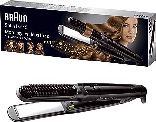 comprar comparacion Braun Satin Hair 5 ST570 - Plancha de pelo, placa de cerámica, 4 estilos con rizador y tecnología iónica para potenciar el...